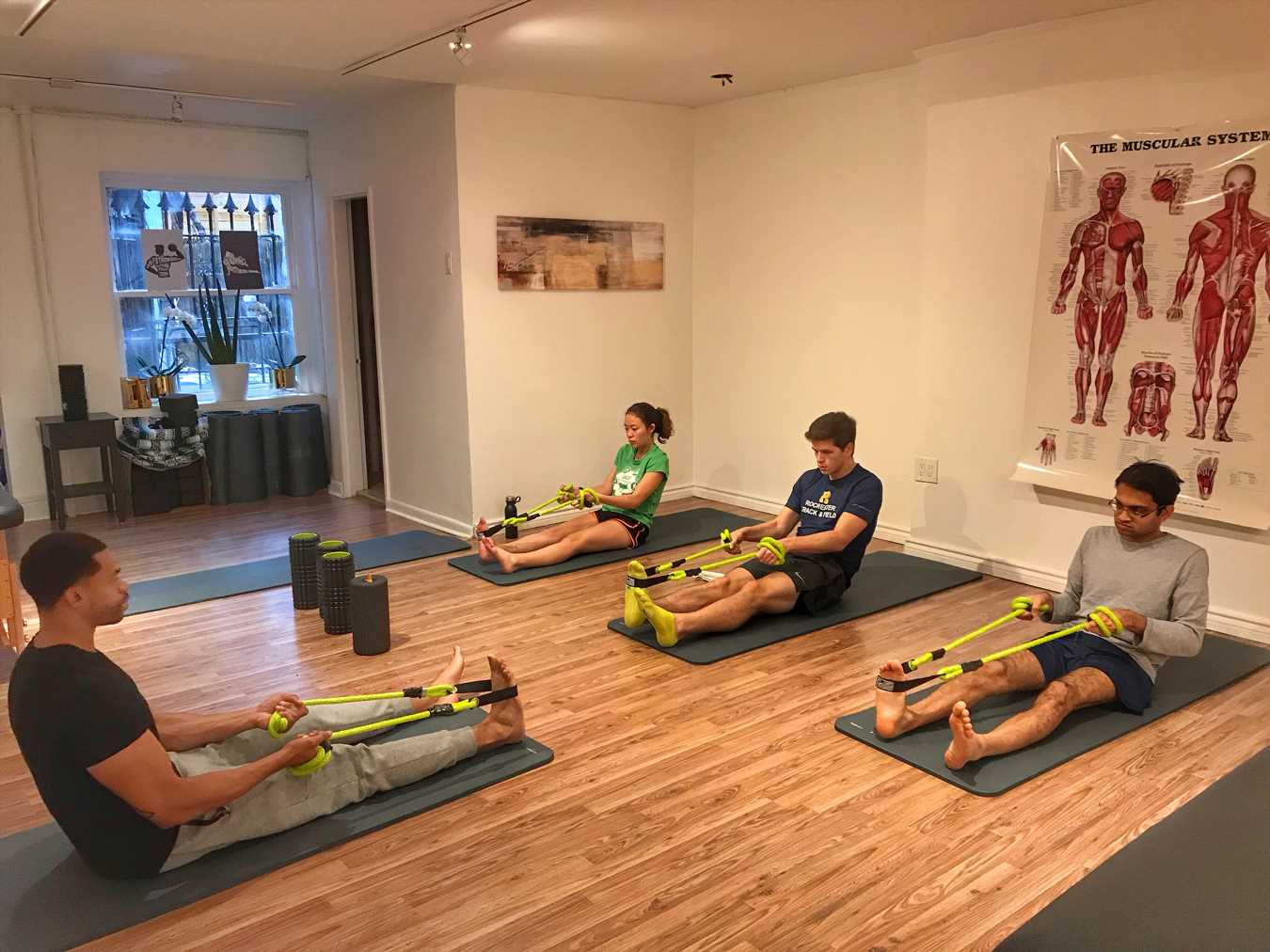 We Tried It: A Stretching Class, Followed by a Personal